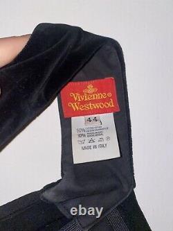 Vivienne Westwood 1991 Corset Black Velvet VINTAGE & RARE condition