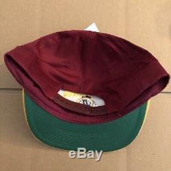 Vtg NWT Washington Redskins Snapback Hat Cap 90s NFL Super Bowl Football RARE