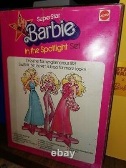 Wow Vintage Super Rare 1976 1977 Superstar Barbie Doll In The Spotlight Nrfb
