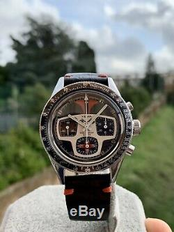 Yema Rallygraf Super Vintage Chronograph Watch Valjoux 7736 Rare