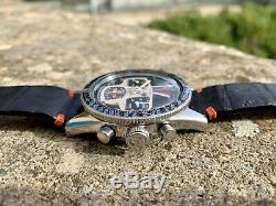 Yema Rallygraf Super Vintage Chronograph Watch Valjoux 7736 Rare Watch