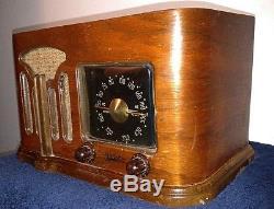 Zenith 1941 Vintage Tube Radio 6d 628 Super Rare